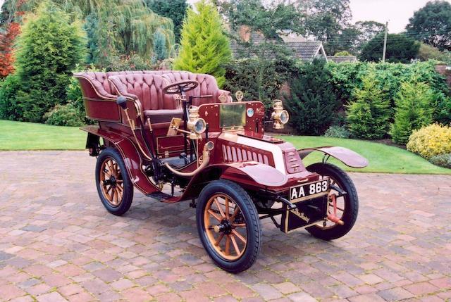 1904 De Dion Bouton Y,