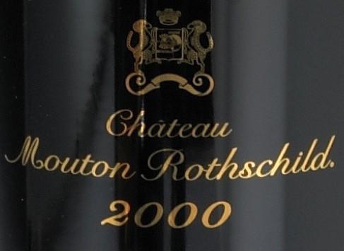 Chateau Mouton Rothschild 2000, Pauillac (12)