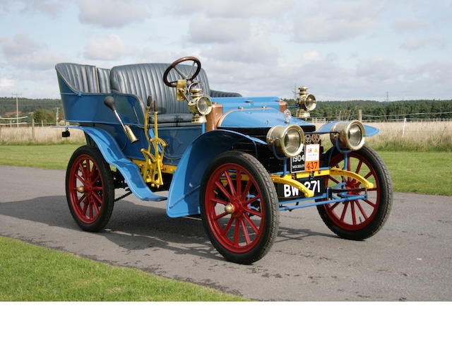 1904 Wolseley 8hp Twin Cylinder 1647cc Four/Five Seater Rear Entrance Tonneau  Chassis no. 930 Engine no. E 930