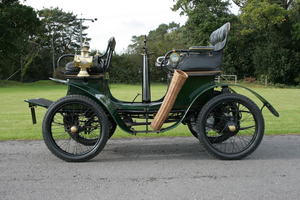 1901 De Dion Bouton 4½hp vis-à-vis Voiturette, Chassis no. 372 Engine no. 4185
