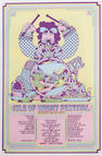 A poster for the Jimi Hendrix Experience at the Fillmore Auditorium, NYC, June 1967,