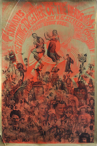 Psychedelic and other posters,