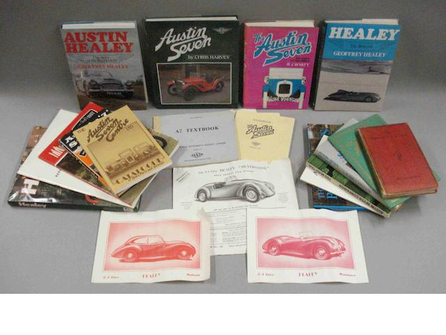 Austin Healey and Austin Seven books,