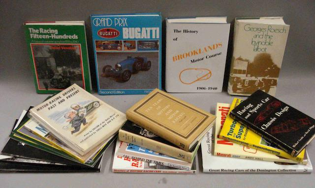 A quantity of motorsport and related books,