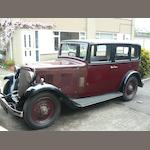 1934 Armstrong Siddeley 12hp,