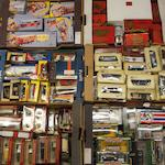Assorted die-cast model cars,