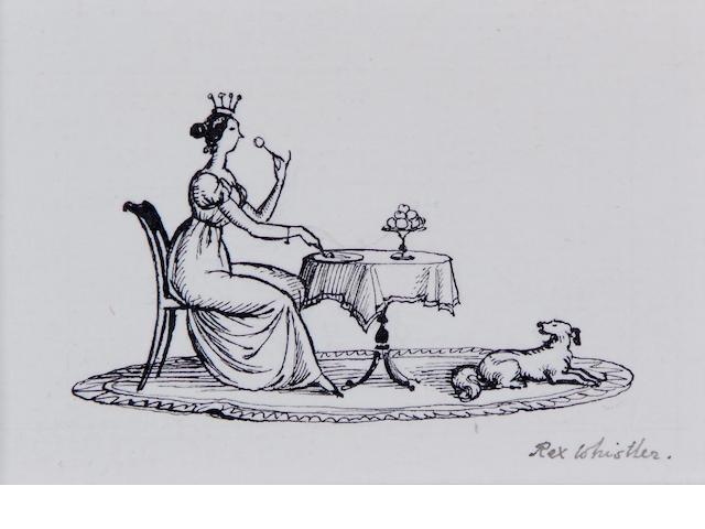 Rex Whistler (British, 1905-1944)