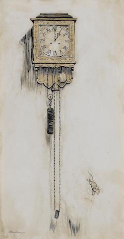 Arthur Rackham (British, 1867-1939) Hickory, Dickory, Dock unframed