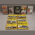 A quantity of motor racing video cassettes,
