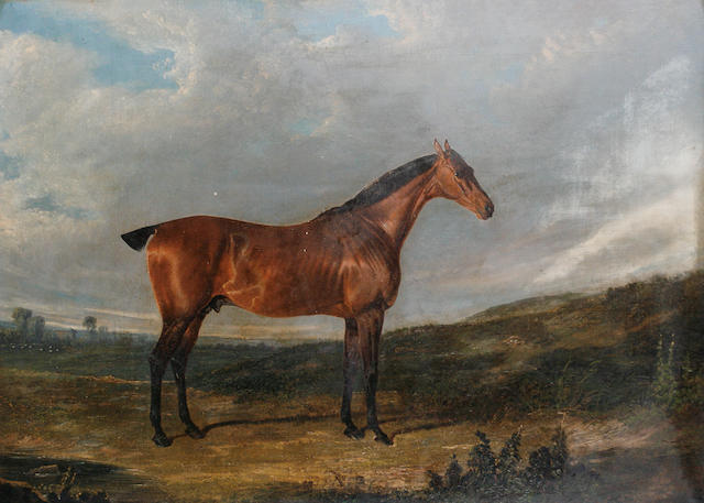 Follower of John Frederick Herring, Snr. (British, 1795-1865) A horse, thought to be called Thyrsis,