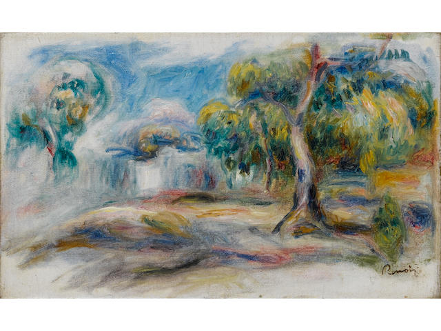 Pierre-Auguste Renoir (French, 1841-1919) Paysage, executed between 1910-1914