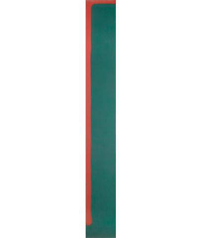 John Hoyland R.A. (British, born 1934) Untitled 242 x 30.5 cm. (95.6 x 12 in.)