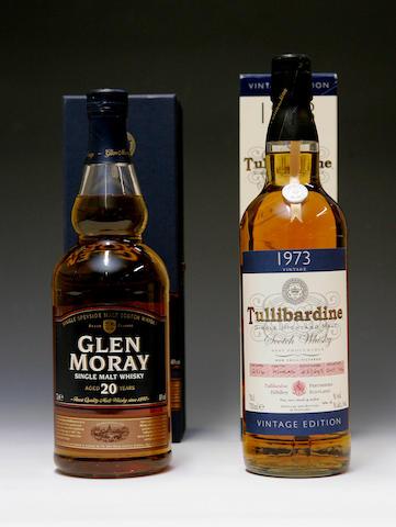 Tullibardine -1973  Glen Moray-20 year old