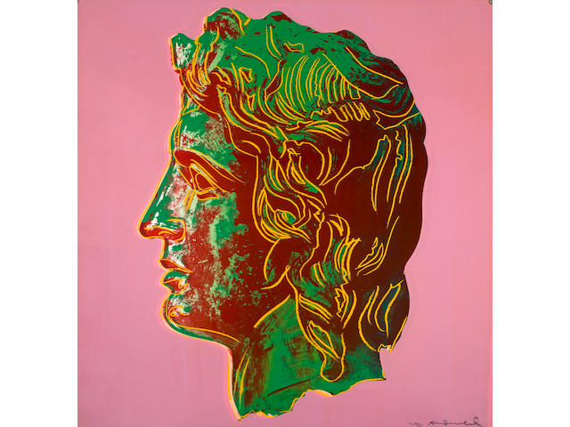Andy Warhol (American, 1928-1987) Alexander the Great 100 x 100 cm.