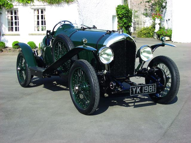One of only eighteen examples manufactured,1925 Bentley 3 litre 100mph Supersports 'Brooklands' Two-seater  Chassis no. 1161 Engine no. 546