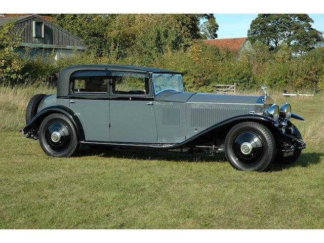 The property of Sir John Stuttard, Lord Mayor of London, 2006-2007.  1994 Pebble Beach Concours d'Élégance Class Winner.  1996 Masters Class Winner, RREC Annual Rally, Althorp Park,,1931 Rolls-Royce Phantom II Continental Touring Saloon  Chassis no. 50GX Engine no. KA95