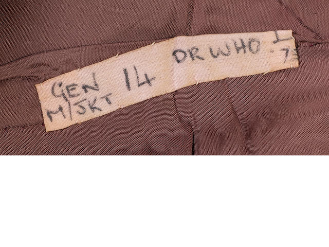 Dr. Who: Jon Pertwee's jacket from 'Planet Of The Daleks', 1973,