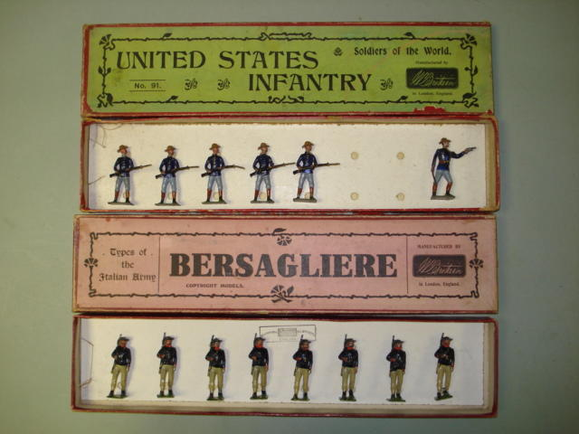 Britains set 91, U.S.Infantry 14