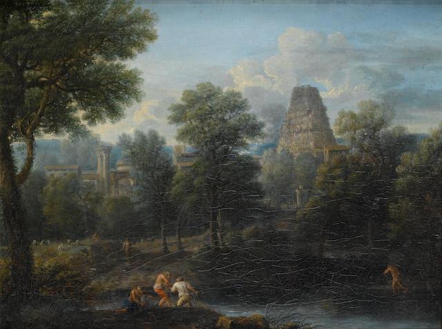 John Wootton (Snitterfield 1682-1764 London) An Italianate river landscape
