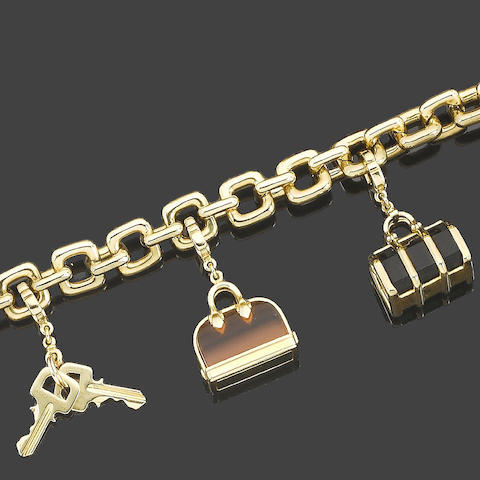 A charm bracelet, by Louis Vuitton