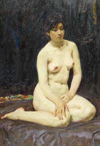 Wei Qimei (b.1923) Nude