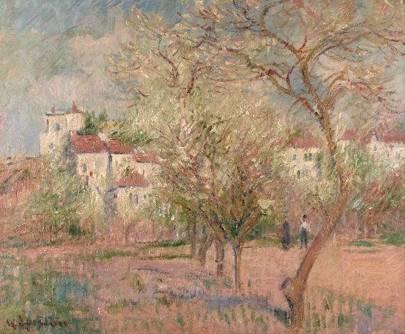 Gustave Loiseau (French, 1865-1935) Pruniers en fleurs, 1920
