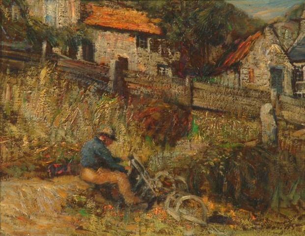 Mark Senior (British, 1864-1927) 'A Bit of Runswick'