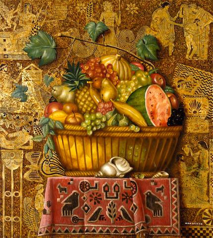Theodoros Manolidis (Greek, born 1940) Spring 100 x 90 cm.