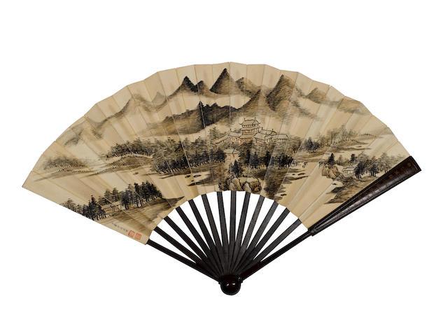Dong Bangda (1696-1769) Landscape