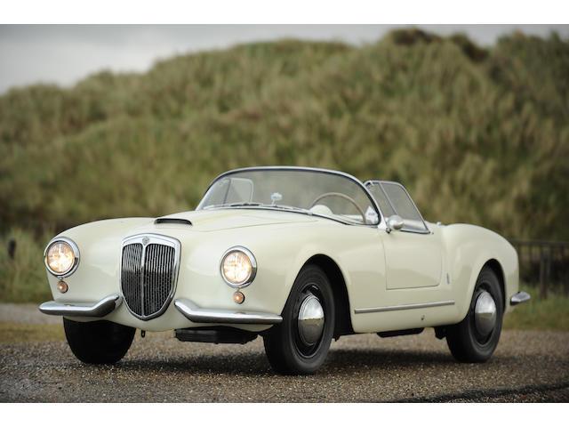 Lancia Aurelia B24 Spyder,1955 Lancia Aurelia B24S Spider America, Nardi converted  Chassis no. B24S-1148 Engine no. B24-1204