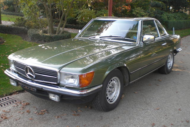The Property of Baroness Edmond de Rothschild,1983 Mercedes-Benz 380SL  Chassis no. WDB1070451A000982