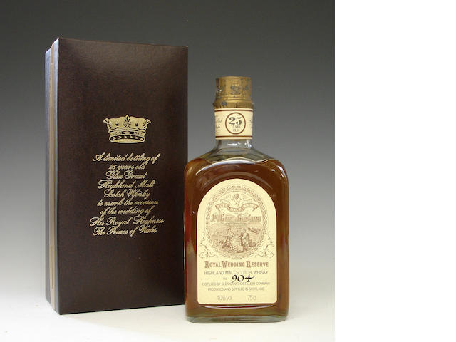 Glen Grant Royal Wedding Reserve-25 year old