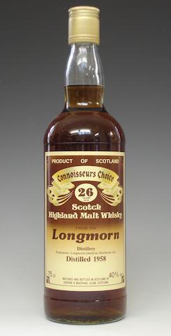 Longmorn-25 year old -1958