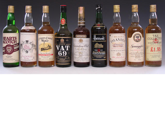 Mixed blended whiskies