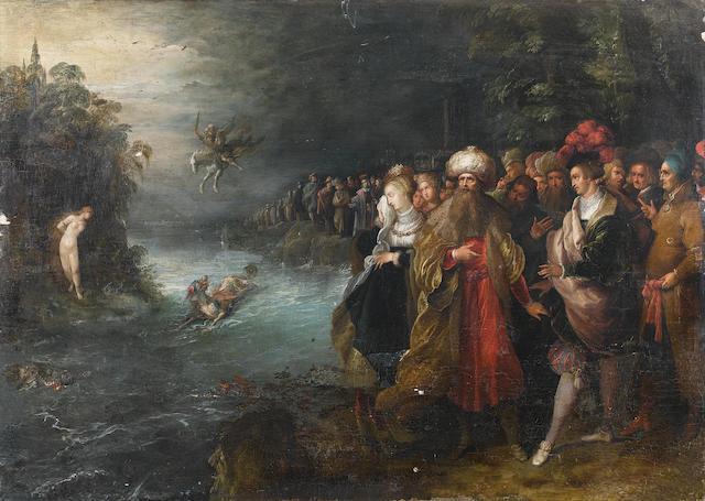 Frans Francken II (Antwerp 1581-1642) Perseus and Andromeda