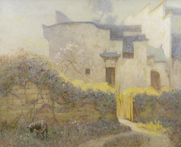 Zhou Bichu (1903-1995) Scenery