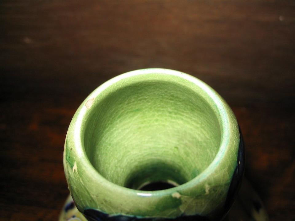 A MacIntyre Moorcroft double gourd shape vase