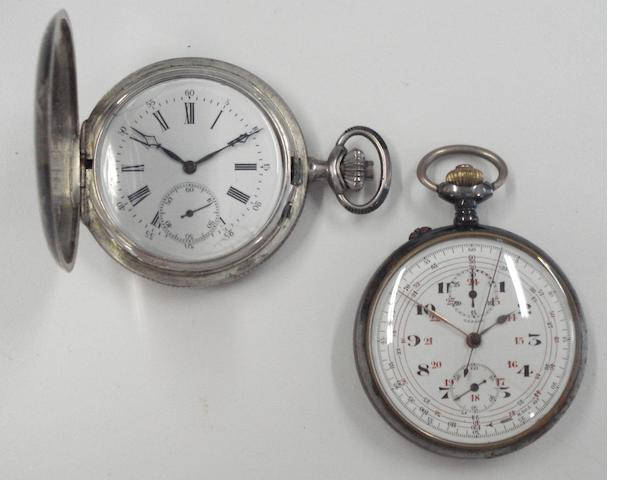 A lot of two various pocket watches 2
