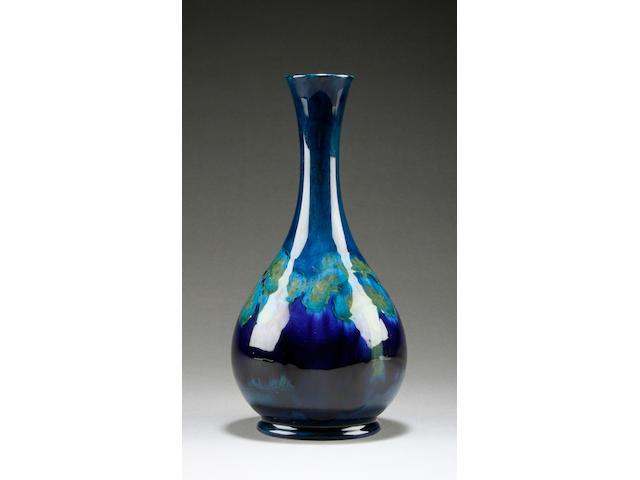 A Moorcroft 'Moonlit Blue' vase, circa 1925