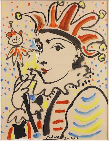 Pablo Picasso (Spanish, 1881-1973) Carnival