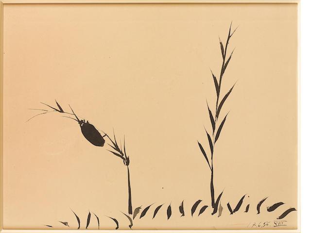 Pablo Picasso (Spanish, 1881-1973) Plantes et Insecte