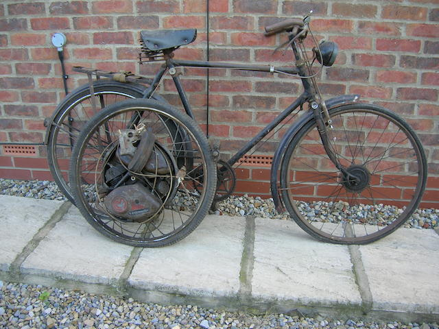 1953 Raleigh Gents Bicycle with Cyclemaster Unit,