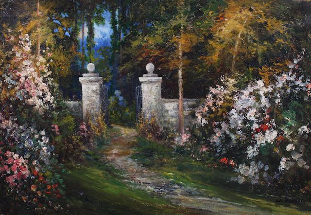 Daniel Sherrin (British, 1868-1940) 51 x 76.5cm.