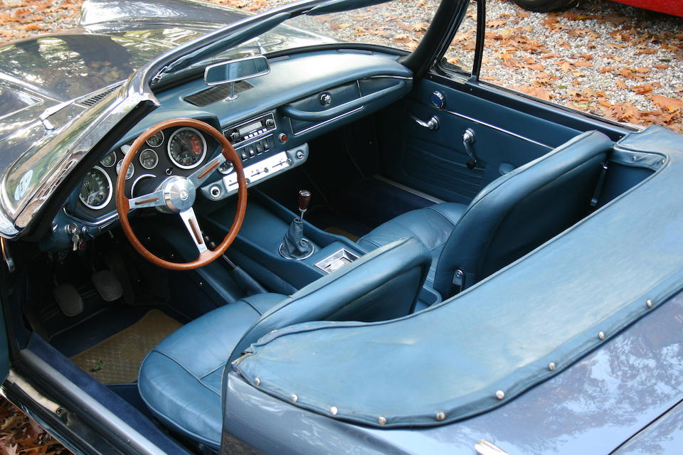 1966 Maserati Mistral Spyder  Chassis no. AM109S605