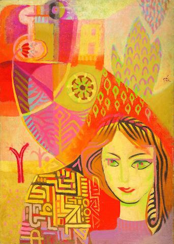 Naim Ismail (Syria, 1930-1979) Untitled