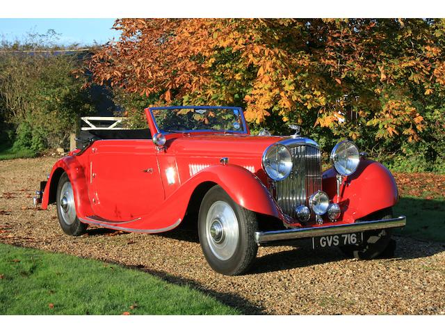 1936 Bentley 4¼-Litre Drophead Coupé  Chassis no. B90GA Engine no. N3BT
