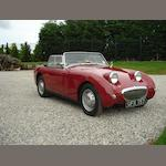 1958 Austin-Healey Mkl Roadster  Chassis no. HAN 55472 Engine no. 9CU 44805