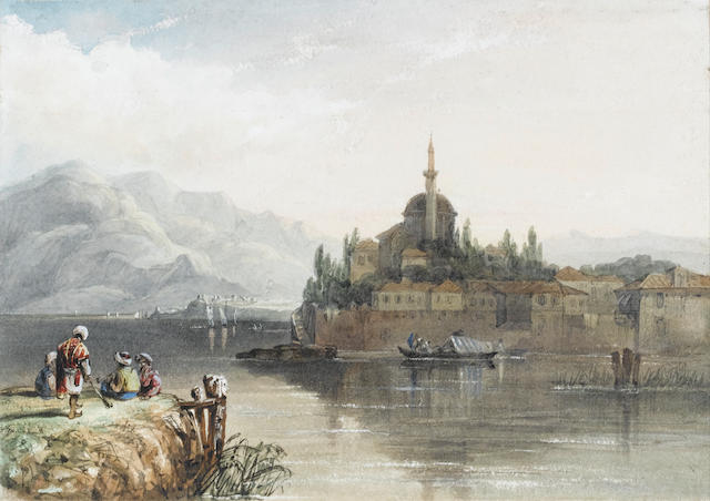 Fré dé ric Bourgeois de, Baron Mercey (French, 1805-1860) Ioannina