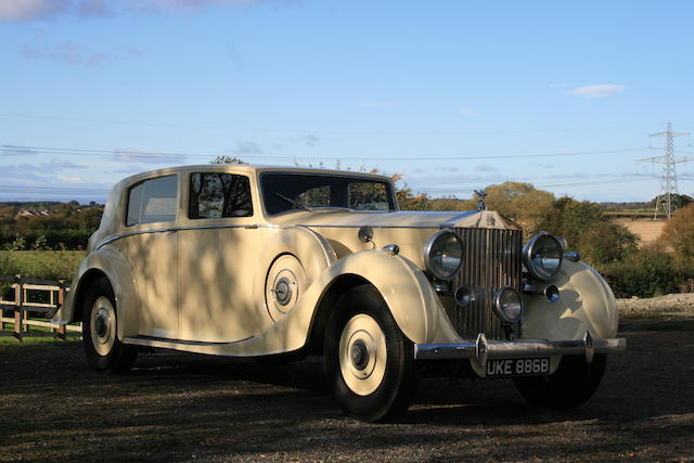 1938 Rolls Royce Phantom III Sports Limousine,