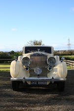 1938 Rolls-Royce Phantom III Sports Limousine  Chassis no. 3DL38 Engine no. K588